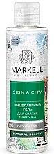 """Profumi e cosmetici Gel micellare viso """"Fungo di neve"""" - Markell Cosmetics Skin&City"""