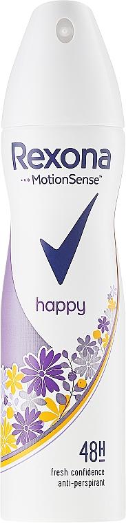 Deodorante-spray - Rexona MotionSense Happy Morning Peach & Wild Raspberry