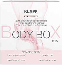 Profumi e cosmetici Set per il corpo - Klapp Repagen Body Box Shape (cr/200ml+b/gel/200ml)