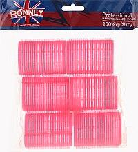 Profumi e cosmetici Bigodini in velcro 44/63, rosa - Ronney Professional Velcro Roller