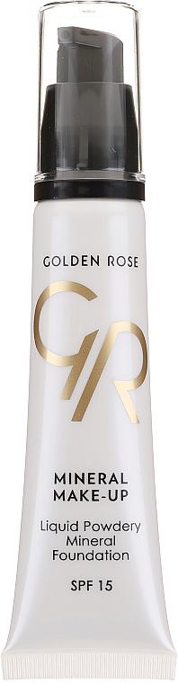 Fondotinta - Golden Rose Liquid Powdery Mineral Foundation