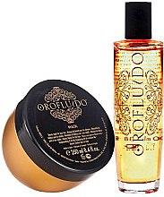 Profumi e cosmetici Set - Orofluido Promo Pack (elixir/100ml+h/mask/250ml)