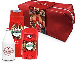 Profumi e cosmetici Set - Old Spice Bearglove Travel (deo/50g + sh/gel/250ml + ash/lot/100ml + bag)