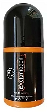 Profumi e cosmetici Coty Ex'cla-ma'tion Wild Musk Anti-Transpirant Roll-On - Deodorante