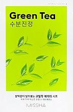 Profumi e cosmetici Maschera viso con tè verde - Missha Airy Fit Green Tea Sheet Mask