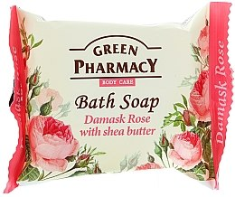 "Profumi e cosmetici Sapone ""Rosa di Damasco e burro di karitè"" - Green Pharmacy"