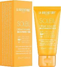 Profumi e cosmetici Crema solare viso impermeabile - La Biosthetique Soleil Multi-Protection Solar Cream SPF 50+