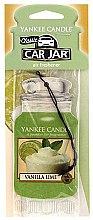 Profumi e cosmetici Profumo per auto - Yankee Candle Car Jar Vanilla Lime