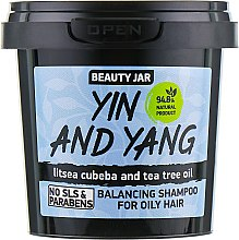 Shampoo per capelli grassi Yin and Yang - Beauty Jar Shampoo For Oily Hair — foto N1