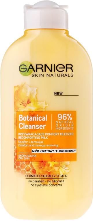 Latte struccante - Garnier Skin Naturals Botanical Flower Honey — foto N1