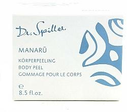 Profumi e cosmetici Crema peeling corpo - Dr. Spiller Manaru Body Peel