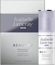Profumi e cosmetici Siero rigenerante contorno occhi - Isabelle Lancray Beaulift Radiant Eye Creamy Serum