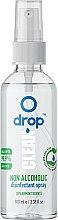 Profumi e cosmetici Disinfettante mani con aroma di menta, senza alcool - Drop Clean Non-Alcoholic Disinfection Spray