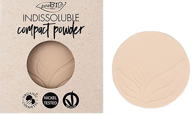 Cipria compatta - PuroBio Cosmetics Compact Powder (ricarica)