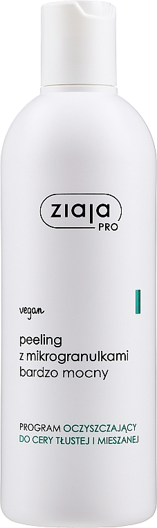 Scrub viso con microgranuli - Ziaja Pro Very Strong Peeling With Microgranules