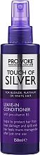 Profumi e cosmetici Balsamo senza risciacquo - Pro:Voke Touch Of Silver Leave In Conditioner