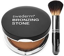 Profumi e cosmetici Set - Swederm (bronzer/13g + brush/1pcs)