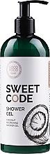 Profumi e cosmetici Gel doccia nutriente al cocco per pelli secche e normali - Good Mood Sweet Code Shower Gel