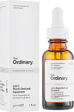 Profumi e cosmetici Squalano 100% naturale - The Ordinary 100% Plant-Derived Squalane