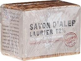 Profumi e cosmetici Sapone di Aleppo con olio di alloro 12% - Tade Aleppo Laurel 12% Soap 12%