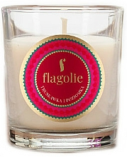 """Profumi e cosmetici Candela profumata """"Fragola e lampone"""" - Flagolie Fragranced Candle Strawberry And Raspberry"""