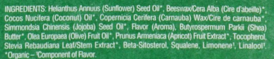 Balsamo labbra all'albicocca - Eos 100% Natural Organic Apricot Lip Balm — foto N3