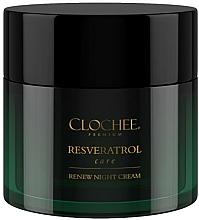 Profumi e cosmetici Crema viso da notte - Clochee Premium Renew Night Cream