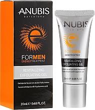 Profumi e cosmetici Gel esfoliante con acido ialuronico - Anubis For Men Revitalizing Exfoliating Gel