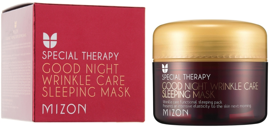 Maschera nutriente anti-rughe al retinolo, da notte - Mizon Good Night Wrinkle Care Sleeping Mask
