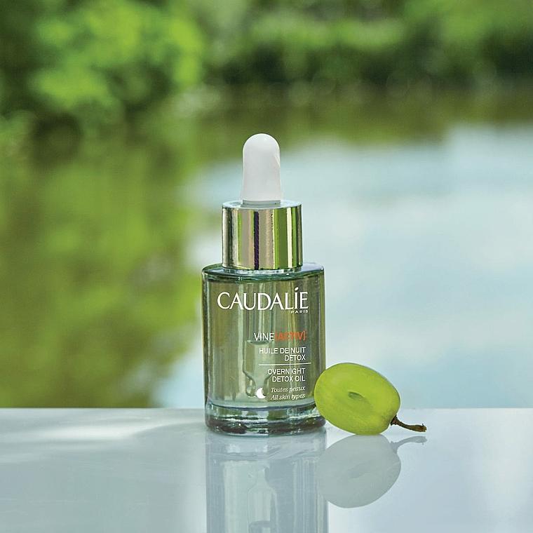 Olio viso - Caudalie VineActiv Overnight Detox Oil — foto N4