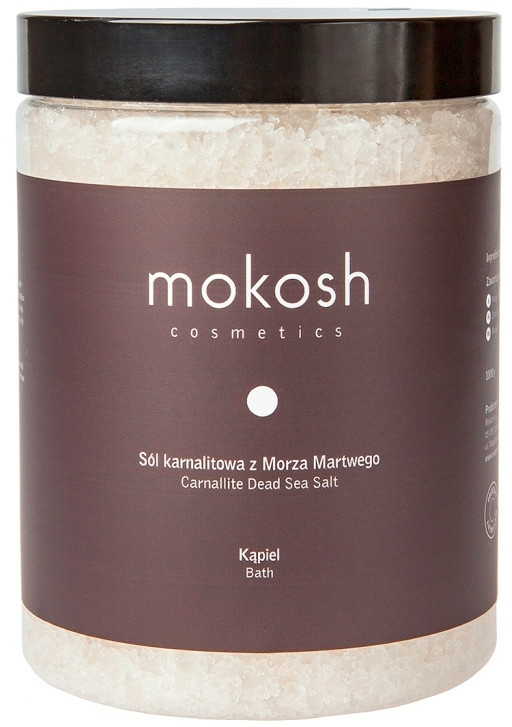 Sale da bagno del Mar Morto - Mokosh Cosmetics Dead Sea Bath Salt