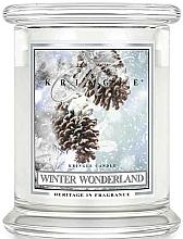 Profumi e cosmetici Candela profumata in barattolo di vetro - Kringle Candle Winter Wonderland