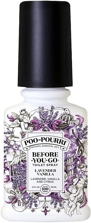 Spray corpo alla lavanda e vaniglia - Poo-Pourri Before You Go Lavender Vanilla And Citrus — foto N1