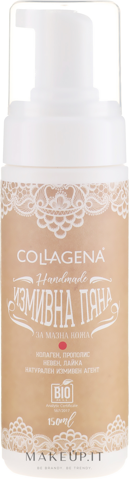 Schiuma per pelli grasse - Collagena Handmade Wash Foam For Oily Skin — foto 150 ml