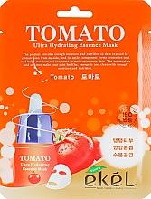 Profumi e cosmetici Maschera in tessuto all'estratto di pomodoro - Ekel Tomato Ultra Hydrating Mask