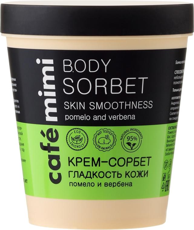 """Crema-sorbetto """"Levigatezza della pelle"""" - Cafe Mimi Body Sorbet"""