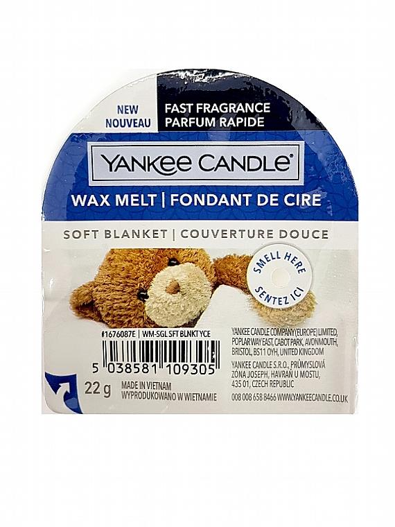 Cera profumata - Yankee Candle Soft Blanket Wax Melt