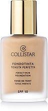 Profumi e cosmetici Fondotinta crema - Collistar Perfect Wear Foundation SPF 10