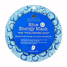 Profumi e cosmetici Maschera viso all'acido ialuronico - Skinlite Blue Energy Mask With Hyaluronic Acid