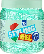 Profumi e cosmetici Gel modellante capelli - Tenex Styling Wetlook Green Gel
