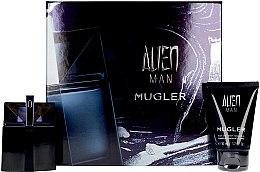 Profumi e cosmetici Mugler Alien Man Gift Set - Set (edt/50ml+b/shm/50ml)