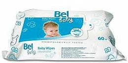 Profumi e cosmetici Salviettine umidificate per la pelle sensibile del bambino - Bel Baby Wipes