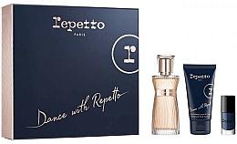 Profumi e cosmetici Repetto Dance With Repetto - Set (edp/60ml + b/lot/50ml + nail/polish/5ml)