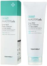 Profumi e cosmetici Schiuma detergente - Tony Moly Derma Master Lab Cica Mild Foam Cleanser