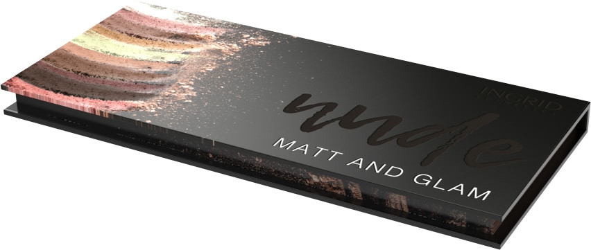 Palette ombretti - Ingrid Cosmetics Nude Matt & Glam Palette — foto N3