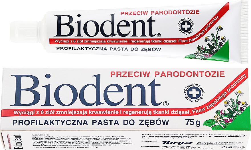 Dentifricio anti-parodontite - Biodent