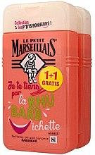Profumi e cosmetici Set - Le Petit Marseillais Rhubarb Shower Gel (sh/gel/2x250ml)