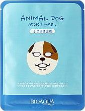 """Profumi e cosmetici Maschera in tessuto per viso a forma di animale """"Cane"""" - Bioaqua Animal Dog Addict Mask"""