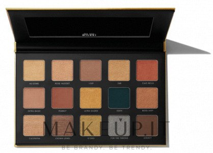 Palette ombretti - Milani Gilded Eyeshadow Palette — foto 110 - Gilded Gold