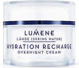 Profumi e cosmetici Crema idratante e rigenerante, da notte - Lumene Lahde Hydration Recharge Overnight Cream